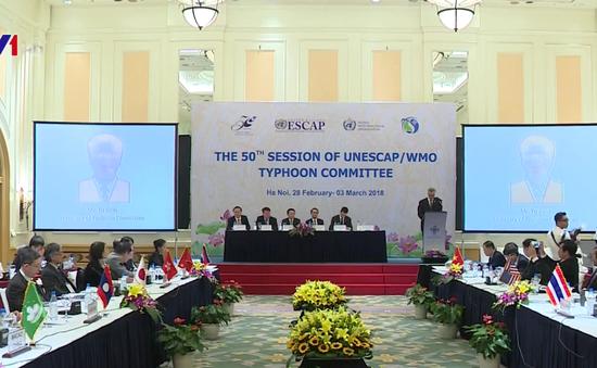 Khai mạc khóa họp thường niên và kỷ niệm 50 năm Ủy ban Bão quốc tế