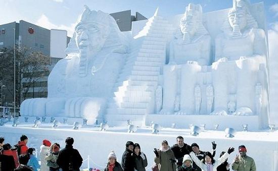 Tưng bừng lễ hội tuyết tại Sapporo, Nhật Bản