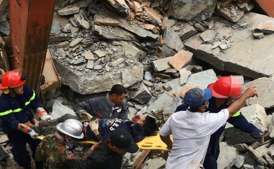 Sập mỏ đá tại Đà Nẵng, một người tử vong