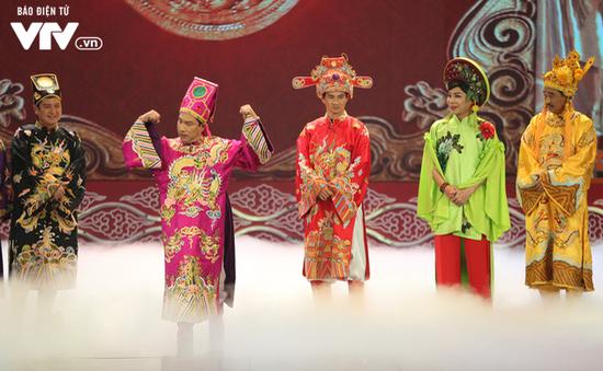 """Táo quân 2018: """"Táo"""" Quang Thắng tự tin """"vượt mặt"""" bộ ba quyền lực của thiên đình"""