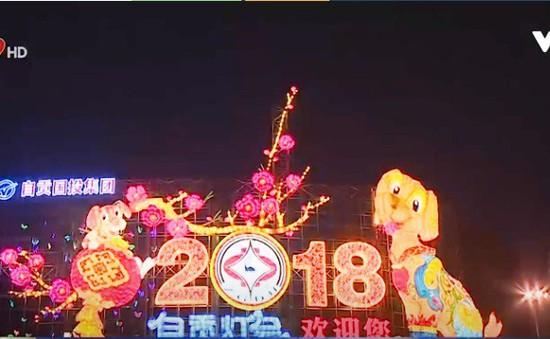 Trung Quốc: Nhiều thành phố mở đèn nghệ thuật đón Tết