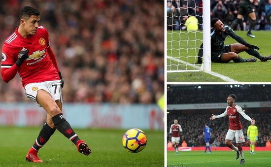 Kết quả, BXH Ngoại hạng Anh sau vòng 26: Arsenal, Man Utd giành 3 điểm trọn vẹn, Man City bị Burnley cầm chân