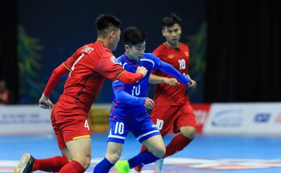 VIDEO: Tổng hợp chiến thắng 3-1 của ĐT futsal Việt Nam trước ĐT futsal Đài Bắc Trung Hoa