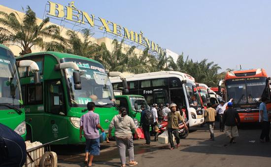 Giá vé xe khách tại TP.HCM dịp nghỉ lễ 30/4-1/5 có thể tăng 30-40%