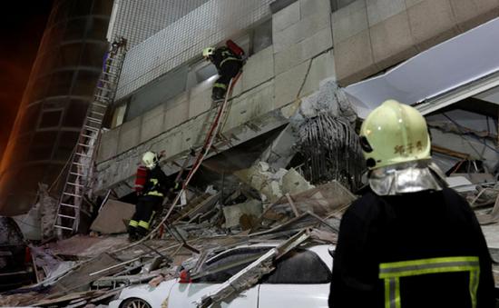 Đài Loan (Trung Quốc): Động đất mạnh 6,4 độ richter, ít nhất 2 người thiệt mạng