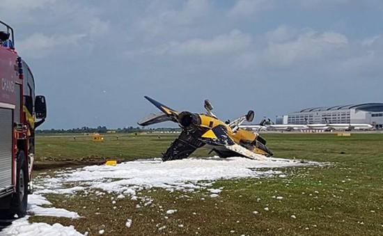 Tai nạn máy bay tại Triển lãm hàng không quốc tế ở Singapore
