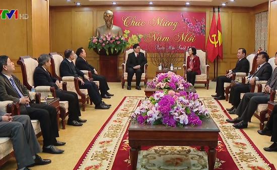 Đồng chí Trương Thị Mai tiếp Hội trưởng Hội thánh Tin Lành Việt Nam