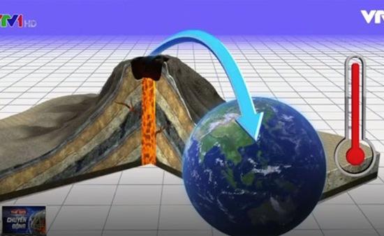 NASA: Núi lửa phun trào có thể đang làm giảm nhiệt độ toàn cầu