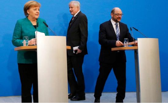 Đức đạt thỏa thuận thành lập Chính phủ mới