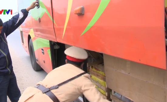 Thanh Hóa tăng cường kiểm soát xe khách dịp Tết