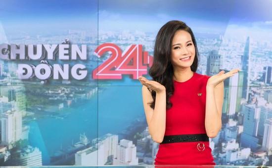 """MC Thu Hương: """"Chuyển động 24h giống như một người bạn thân thiết"""""""