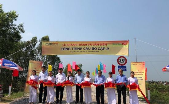Khánh thành 6 cây cầu nông thôn tại tỉnh Long An