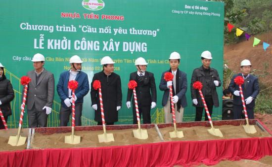 Khởi công xây dựng cây cầu dân sinh 2,6 tỷ đồng tại xã Nà Ui, Lai Châu