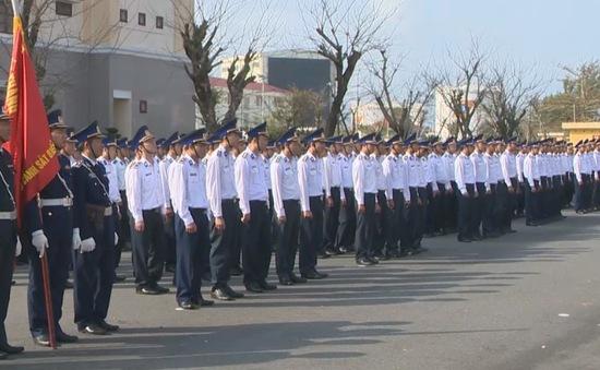 Bộ Tư lệnh Vùng Cảnh sát biển 2 ra quân huấn luyện