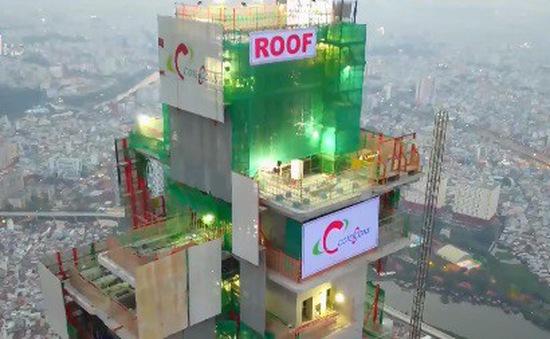Bộ Xây dựng gắn biển công trình xây dựng tòa nhà cao nhất Việt Nam