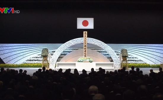 Nhật Bản tưởng niệm 7 năm ngày động đất, sóng thần
