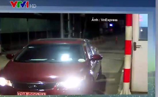 Tài xế đầu tiên dừng ô tô quá 5 phút tại trạm BOT bị phạt