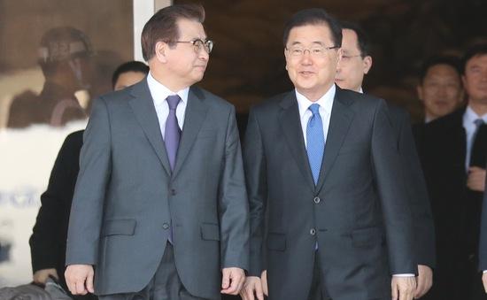 Đặc phái viên Hàn Quốc trở về nước