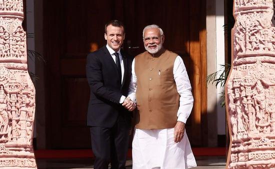 Pháp cam kết tài trợ 700 triệu Euro phát triển năng lượng mặt trời