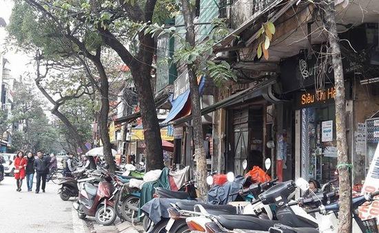 Đề xuất lắp camera phạt nguội lấn chiếm vỉa hè tại Hà Nội