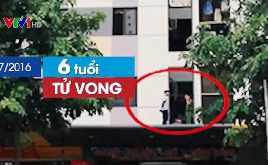 Các vụ tai nạn trẻ em rơi từ nhà cao tầng