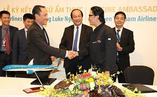 Vietnam Airlines chọn Luke Nguyễn làm Đại sứ Ẩm thực toàn cầu