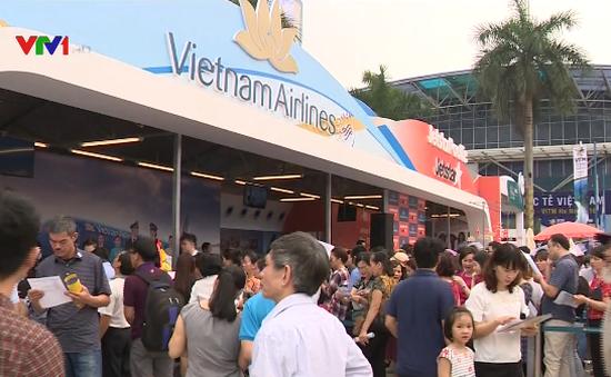 40.000 vé máy bay giá rẻ tại Hội chợ du lịch quốc tế Việt Nam