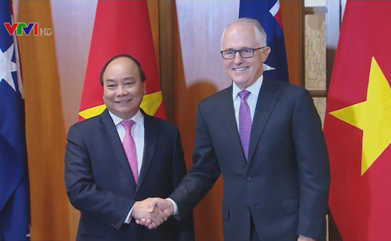 Việt Nam – Australia nâng cấp quan hệ lên tầm Đối tác chiến lược
