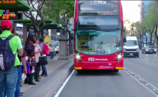 Xe bus 2 tầng tại Mexico