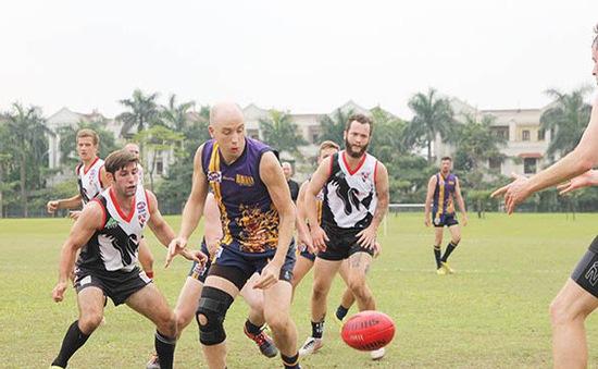 Bóng bầu dục kiểu Úc - Cây cầu kết nối văn hóa Việt Nam - Australia