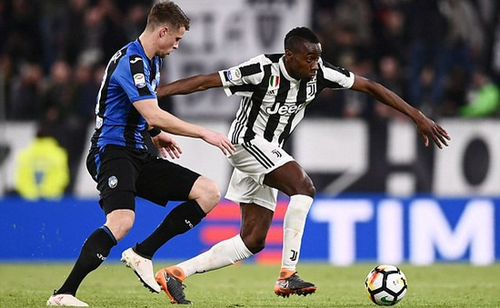 Đá bù vòng 26 giải VĐQG Italia: Juventus thắng nhàn Atalanta