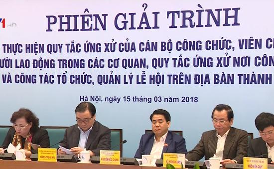 Công chức Hà Nội chưa thực hiện tốt quy tắc ứng xử