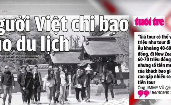 Người Việt ngày càng chi bạo cho du lịch