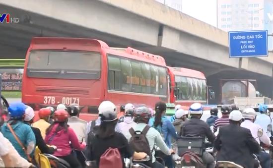 Đề xuất chuyển hướng tuyến xe khách đi qua Hà Nội
