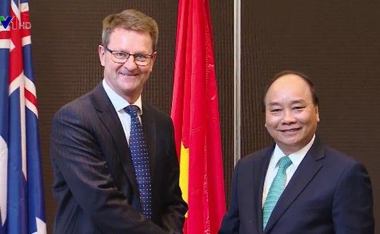 Thủ tướng tiếp lãnh đạo một số doanh nghiệp Australia