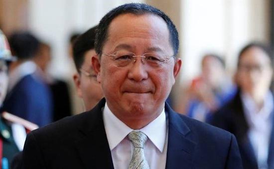 Bộ trưởng Bộ Ngoại giao Triều Tiên thăm Thụy Điển