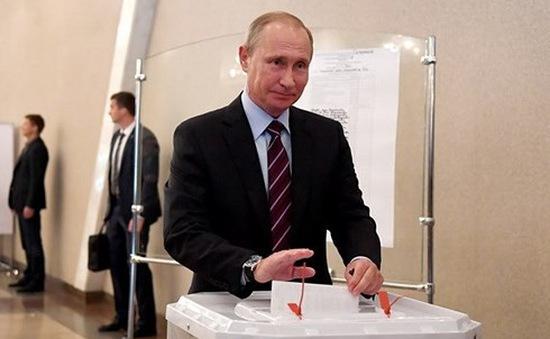 Ngày im lặng trước thềm bầu cử tổng thống Nga