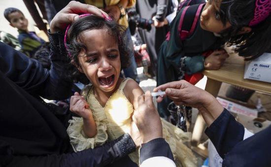Hơn 1.300 người mắc bệnh bạch hầu tại Yemen