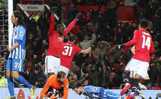 Lukaku và Matic tỏa sáng, Manchester United vào bán kết FA Cup 2018