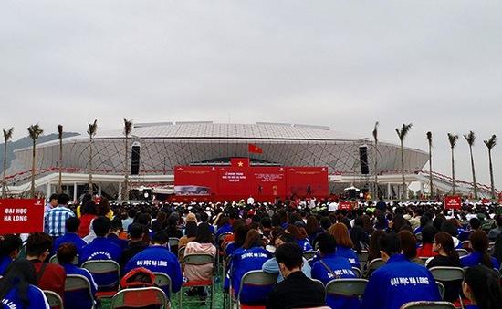 Quảng Ninh khánh thành nhà thi đấu thể thao đa năng
