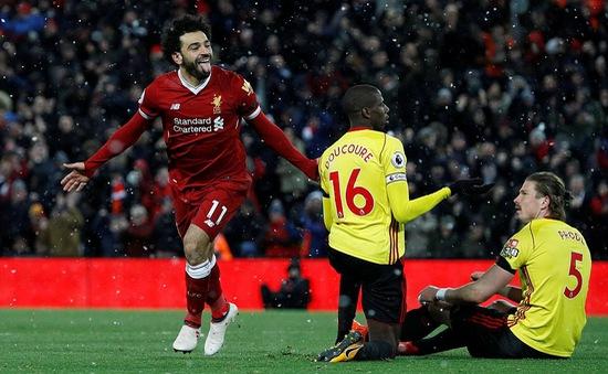 Messi dường như mới bắt kịp Salah