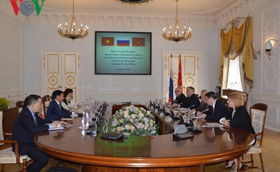 Thúc đẩy quan hệ hợp tác song phương Việt - Nga