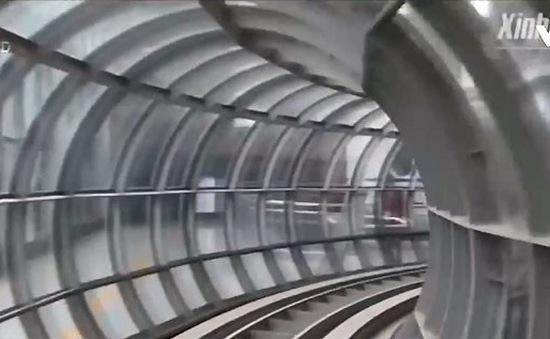 Trung Quốc phát triển những đường tàu siêu cao tốc