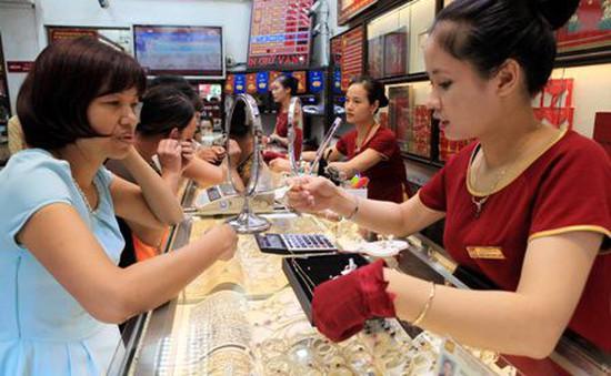 Giá vàng SJC giảm 320.000 đồng mỗi lượng so với ngày vía Thần Tài