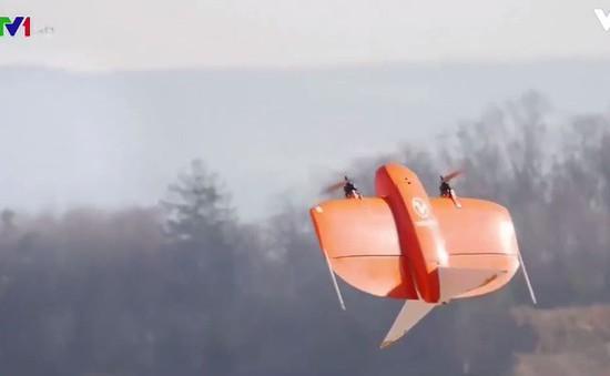 Máy bay vẽ bản đồ tại Thụy Sỹ