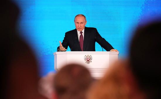 Tổng thống Nga tiết lộ hàng loạt vũ khí tối tân
