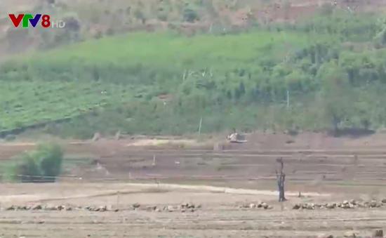Gia Lai đứng trước nguy cơ thiếu nước tưới vụ Đông Xuân