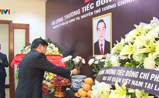 Bạn bè quốc tế viếng nguyên Thủ tướng Phan Văn Khải