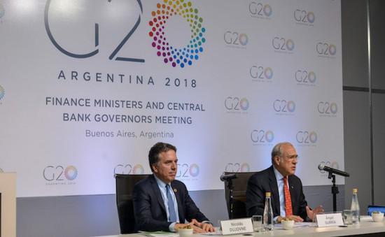 G20 quyết tâm ngăn chặn chiến tranh thương mại