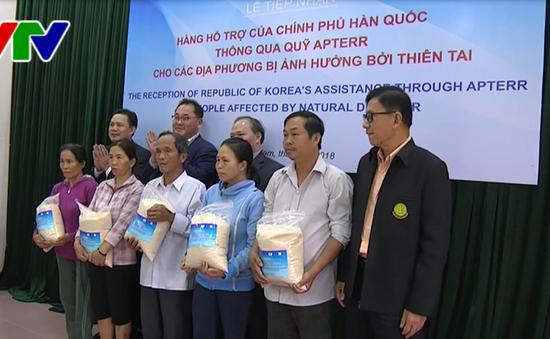 Quảng Nam tiếp nhận gạo hỗ trợ từ chính phủ Hàn Quốc